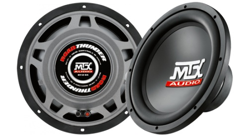 MTX Thunder55T 4-ohm subwoofer at m