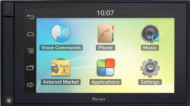 Parrot Asteroid Smart Double Din App Radio With SatNav