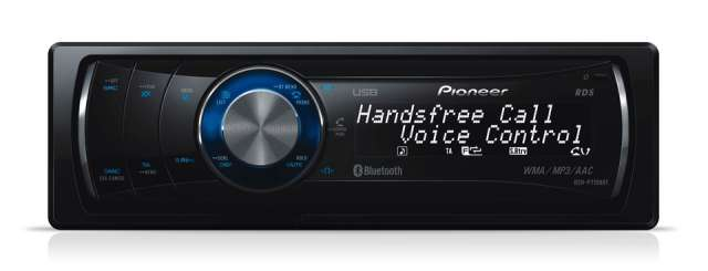 Pioneer DEH-P7100BT CD/MP3 Receiver with Bluetooth & USB Input