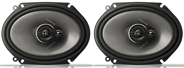 Pioneer TS-A6813i 3 Way Coaxial Speaker System