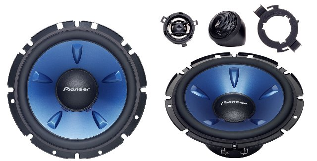 Pioneer TS-H1703 2 Way Component Speaker System