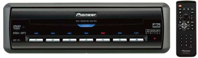 Pioneer XDV-P6 6 Disc Din Size DVD Changer