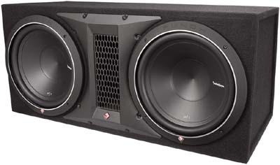 Rockford Fosgate P1-2X12 Punch Series Loaded Enclosure
