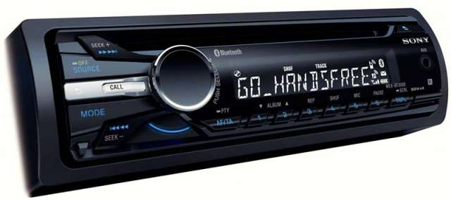 Sony MEX-BT3000U CD/MP3 Receiver With Bluetooth & Aux Input