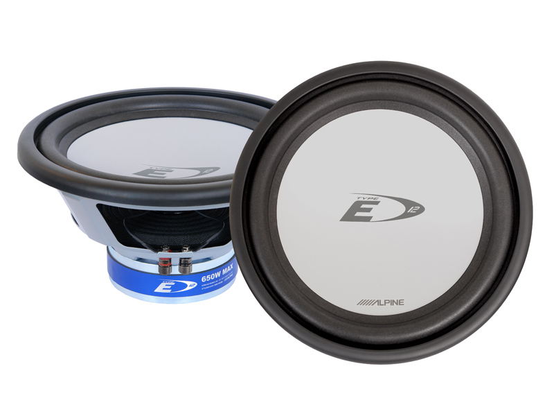 "Alpine SWE-1243IB 12"" 650W Free Air Subwoofer"
