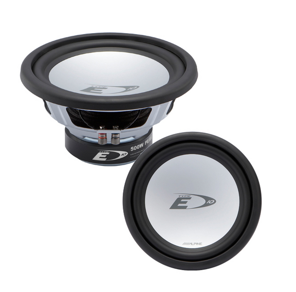 "Alpine SWE-1043E 10"" 500W Subwoofer - Click Image to Close"