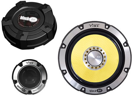 Toxic TOX-521 2 Way 150W Component Speaker System