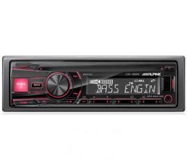 Alpine CDE-180RR CD/Tuner/USB and Aux
