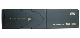 CKO 6008 6 Disc DVD Changer with DVD/CD/MP3/DivX Play Back