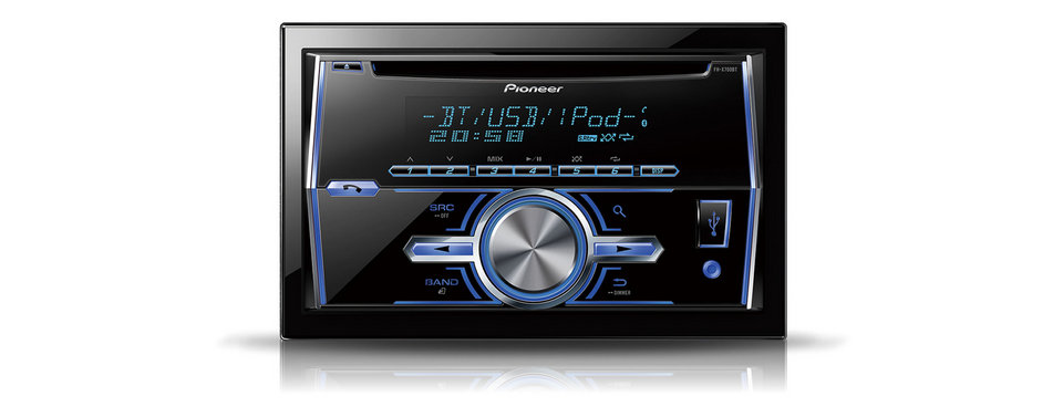 Pioneer FH-X700BT Double Din Receiver with USB & Bluetooth